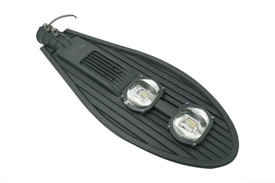 100w đèn đường led hình chiếc lá