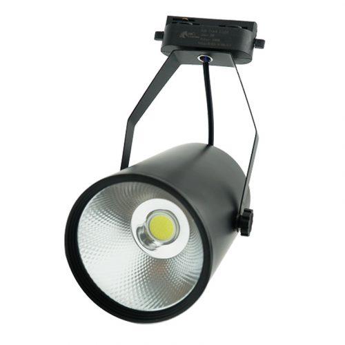 đèn rọi ray cob vỏ đen