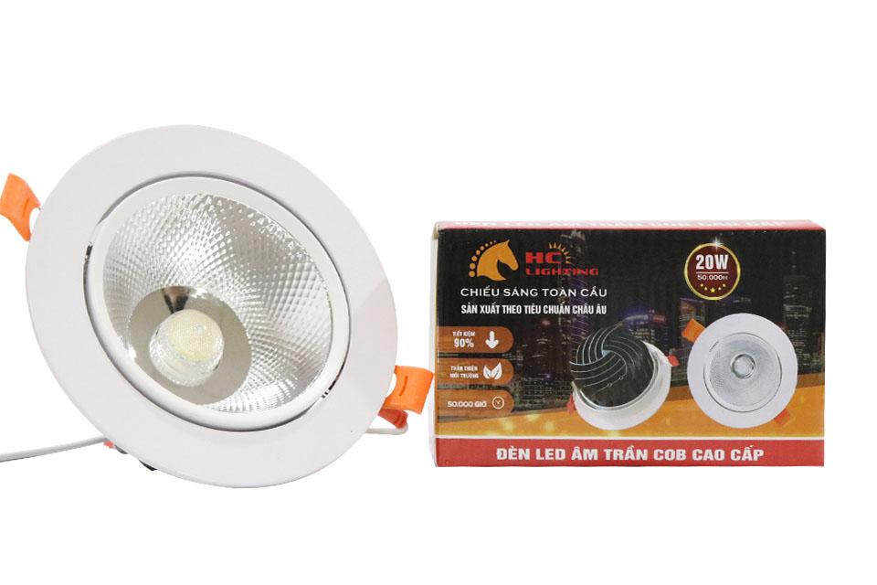 Những mẫu đèn led âm trần phòng ăn cho nhà vừa sáng vừa đẹp