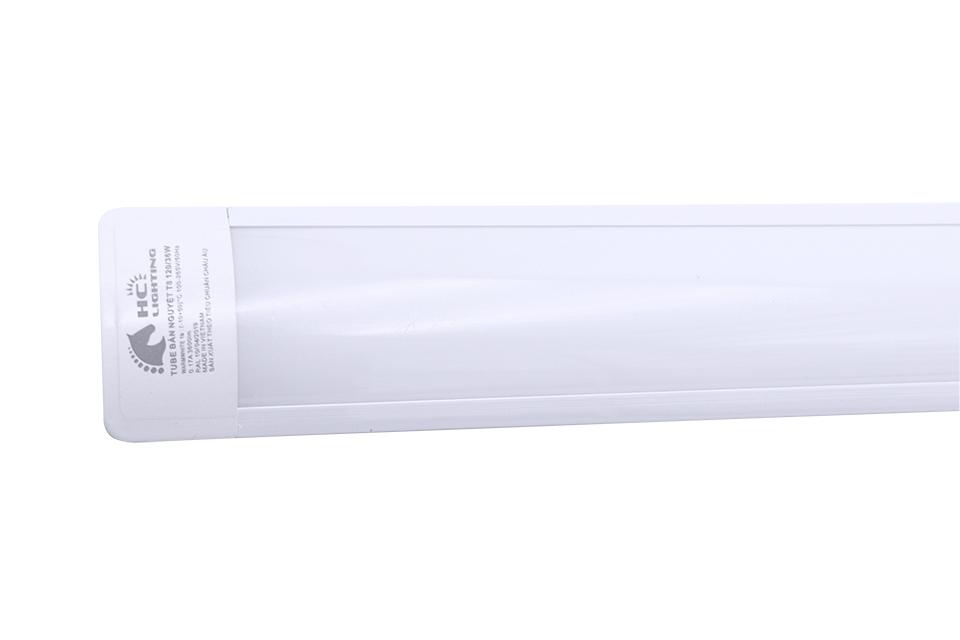 đèn tuýp led chiếu sáng phòng khách