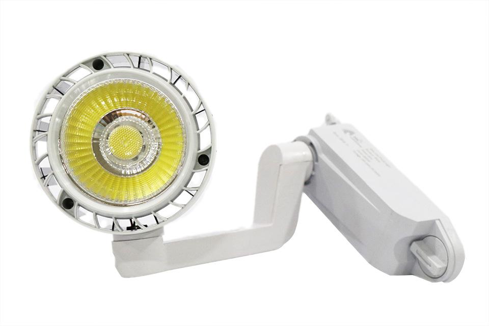 đèn rọi ray cob 20w 30w vỏ trắng