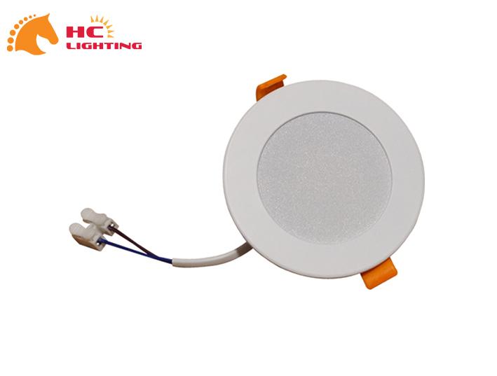 đèn LED âm trần liền chấn lưu 7W 3 màu