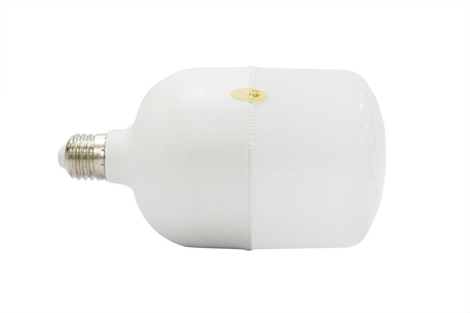 đèn bulb trụ kín nhựa bọc nhôm siêu mịn