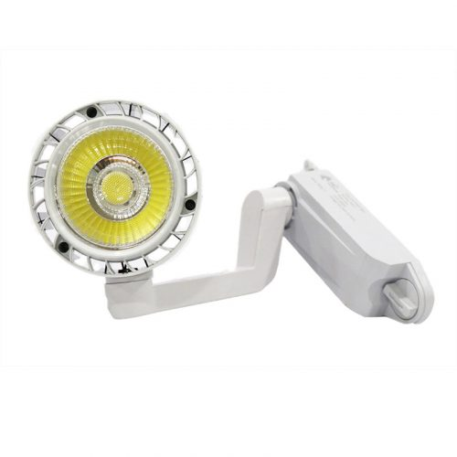 đèn rọi ray cob dạng khuỷu vỏ trắng