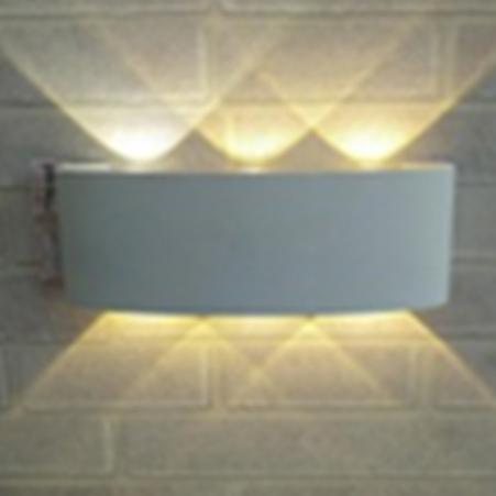 đèn hắt tường trang trí 6w
