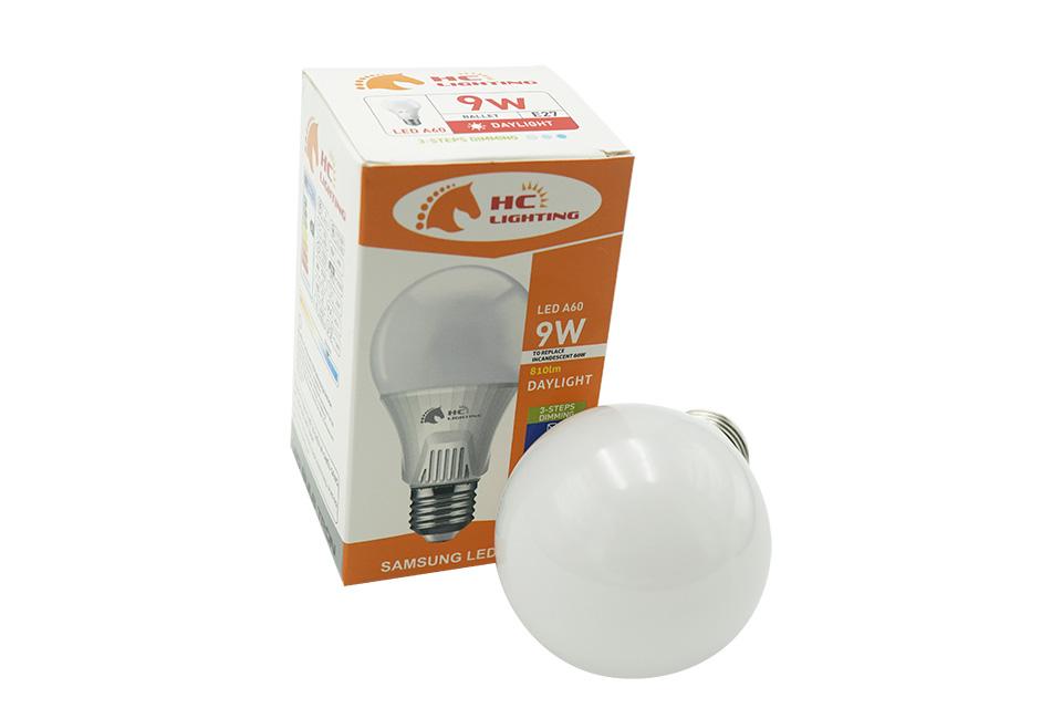 đèn bulb tròn Sam Sung tăng giảm độ sáng 9w