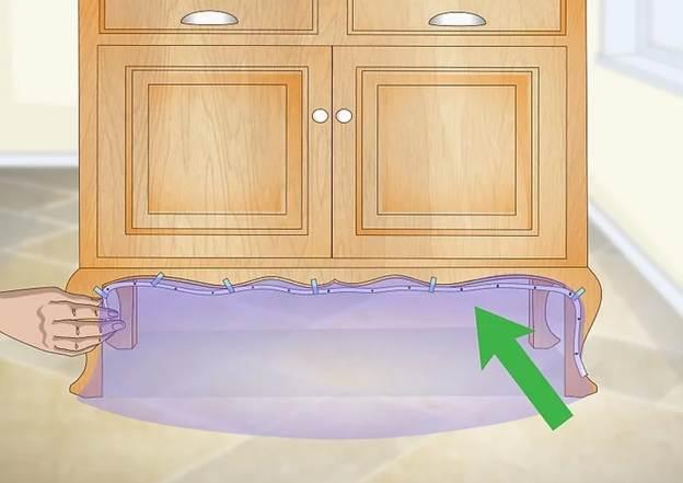 cách lắp đèn led dây dưới tủ