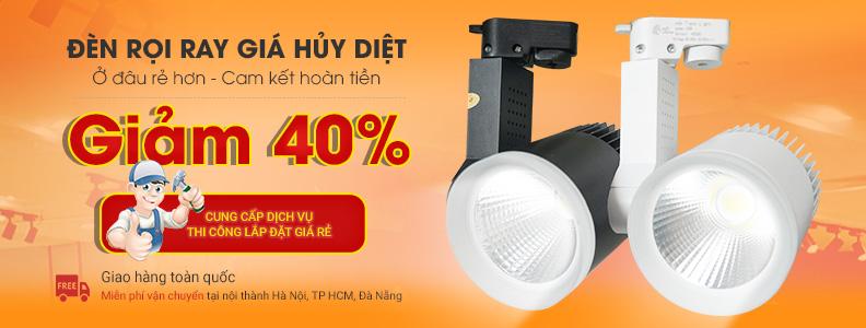 Tư vấn địa chỉ mua đèn rọi ray giá rẻ Hà Nội phù hợp với không gian