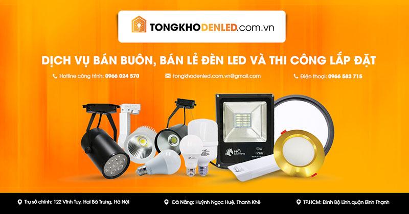 Địa chỉ mua đèn pha led Hà Nội tốt nhất, giao hàng miễn phí