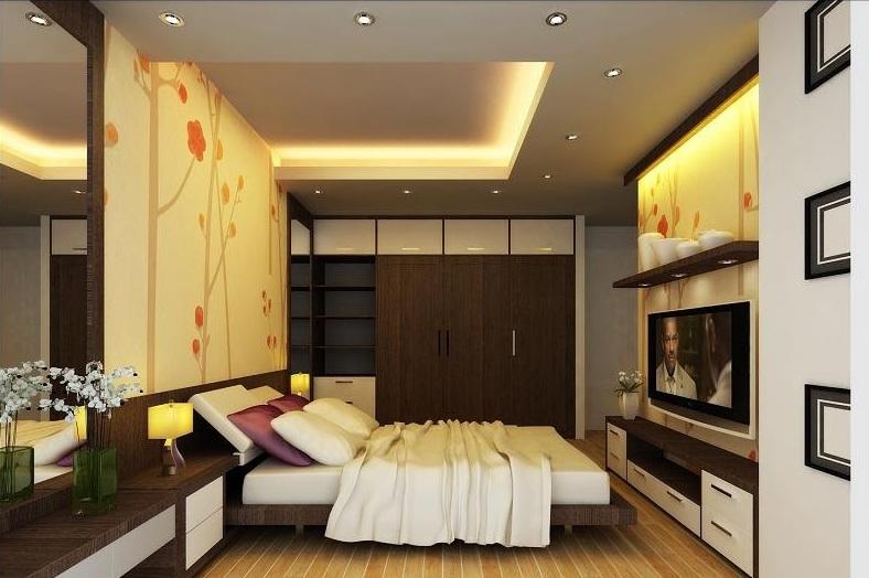 cách sử dụng đèn led dây chiếu hắt sáng cho phòng ngủ