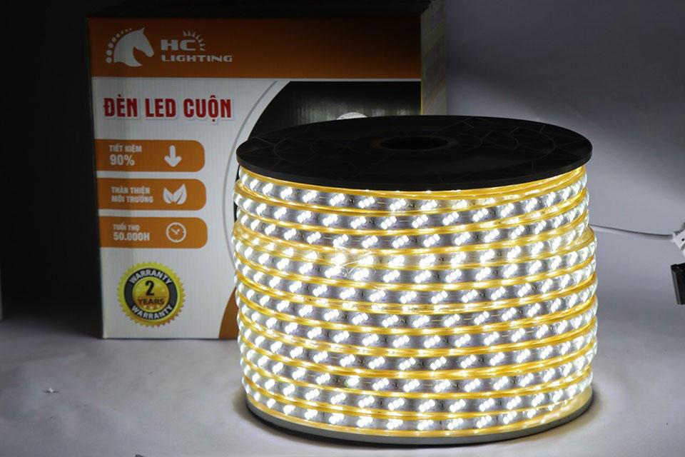 Đèn led dây dùng nguồn bao nhiêu V?