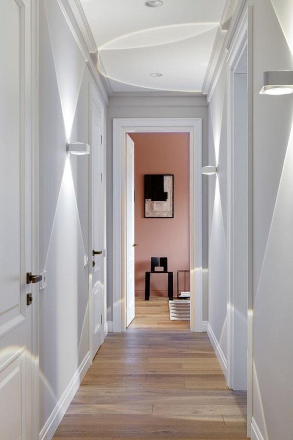 Cách chọn đèn tường trang trí hành lang
