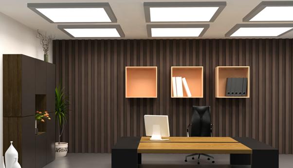 3 lưu ý khi thiết kế hệ thống chiếu sáng cho văn phòng