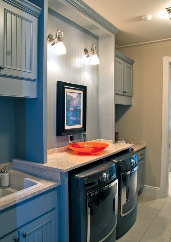 Bí kíp chiếu sáng cho phòng giặt ủi: