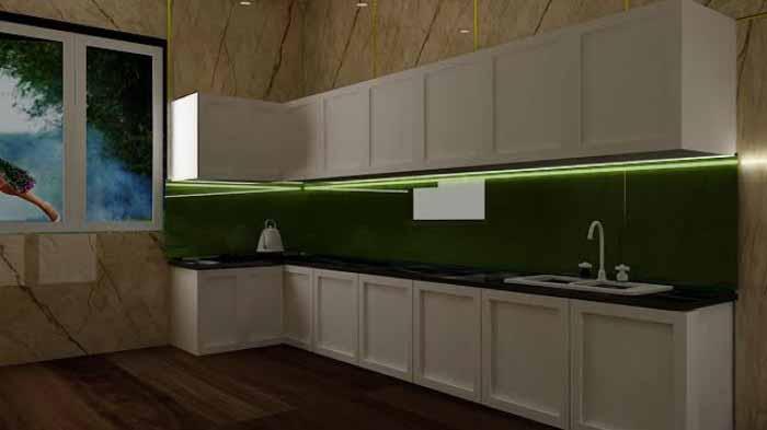 Mẫu đèn led dây cho tủ bếp tuyệt đẹp. Chia sẻ cách gắn