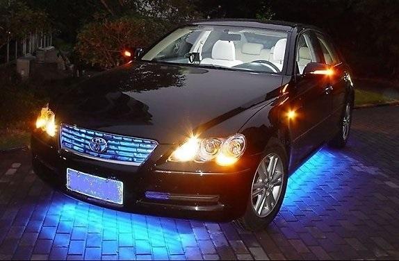 Có nên dùng đèn led dây trang trí ô tô không?
