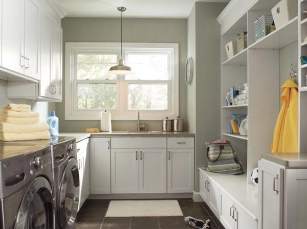 Bí kíp chiếu sáng cho phòng giặt ủi