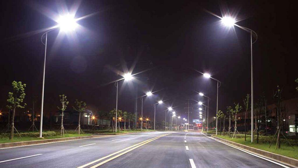 đèn led chiếu sáng công cộng