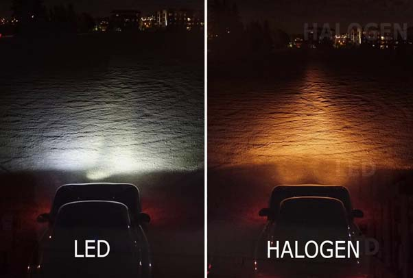 Tại sao đèn LED đánh bật đèn halogen kim loại
