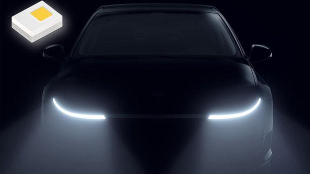 Osram phát minh chip led mới Oslon siêu mỏng dành riêng cho ngành công nghệ ô tô