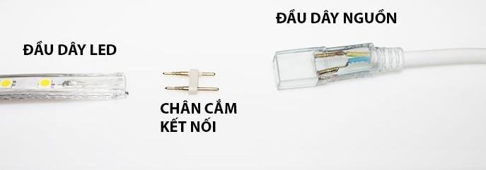 Hướng dẫn cách lắp đèn led dây đúng kỹ thuật