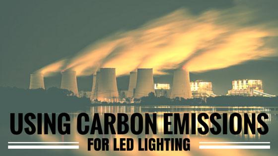 Đèn led, thiết bị chiếu sáng giúp kiềm chế ô nhiễm Carbon