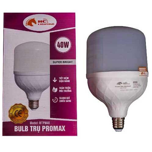 đèn bulb trụ 40w